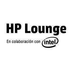 Logo HP Lounge En conlaboración con intel