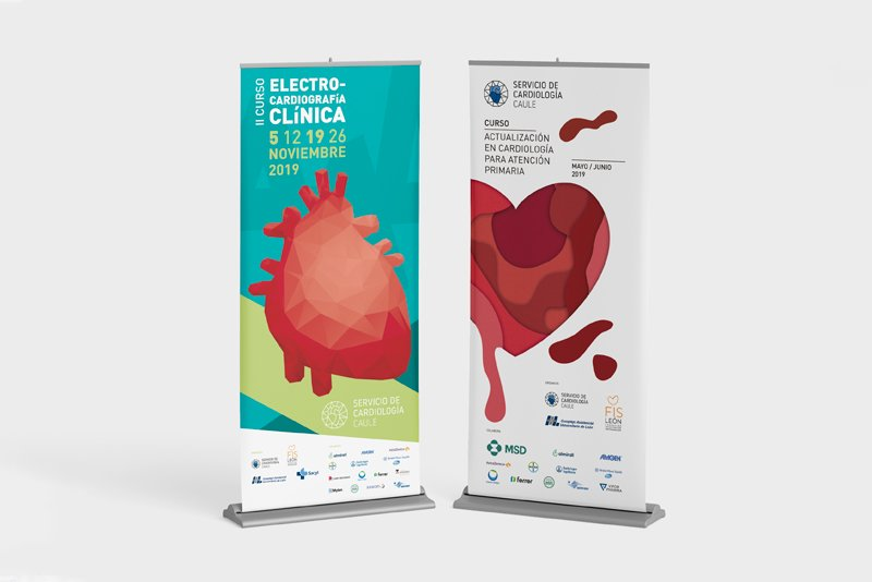 Roll ups cursos Cardiología Clínica