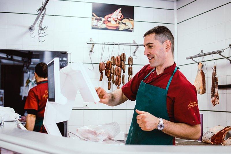 Hijos de Bautista butcher's shop 2