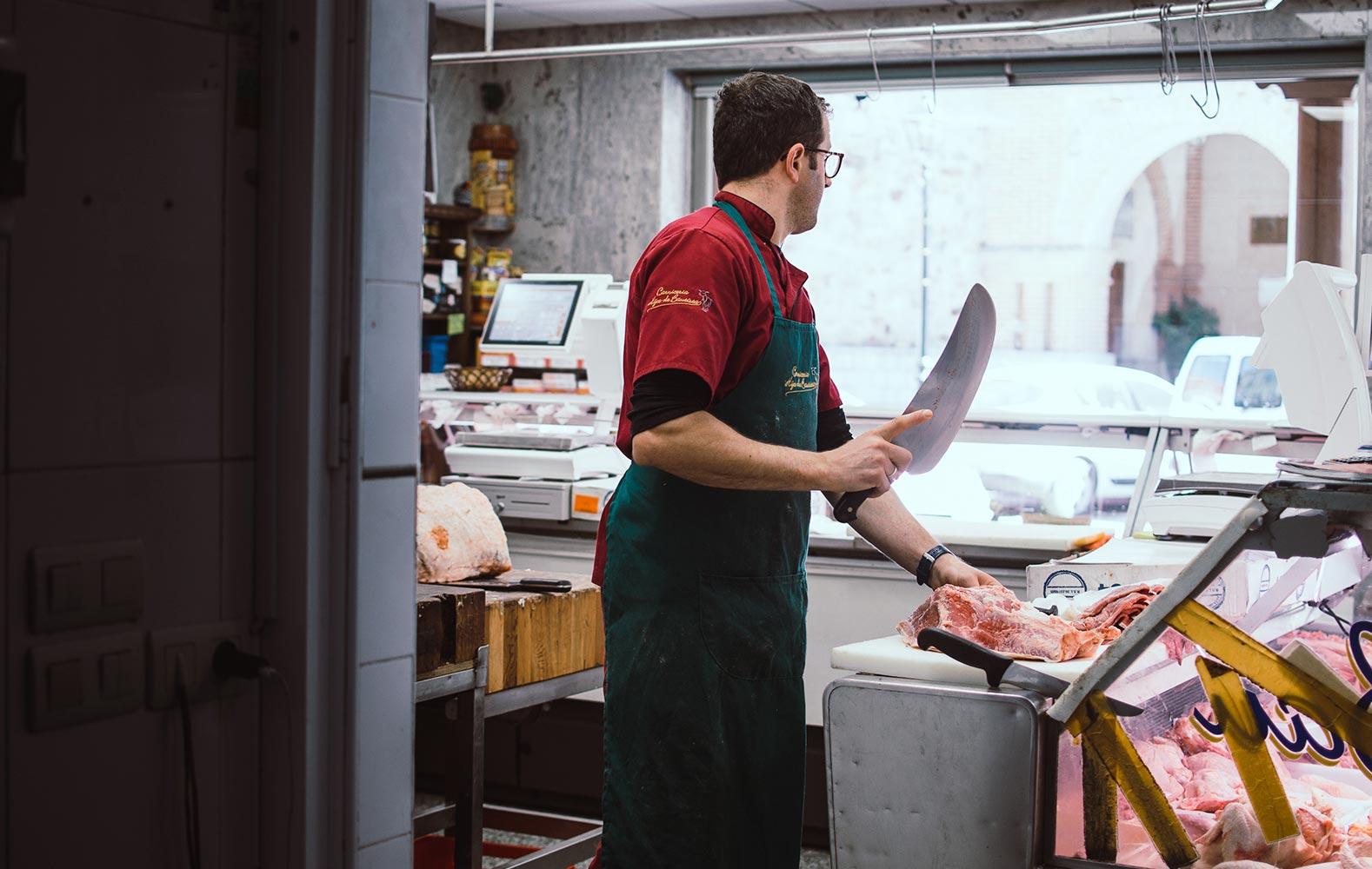 Hijos de Bautista butcher's shop 3