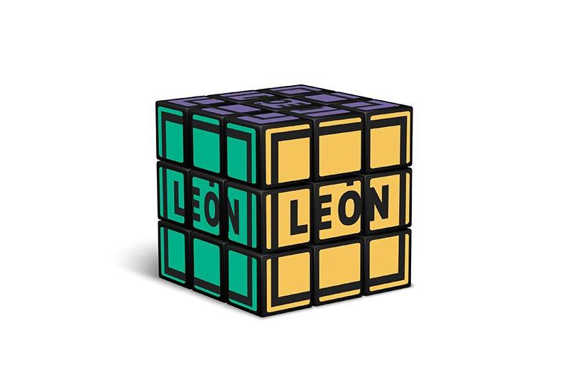 Cubo de Rubik Colores Merchandising Marca León