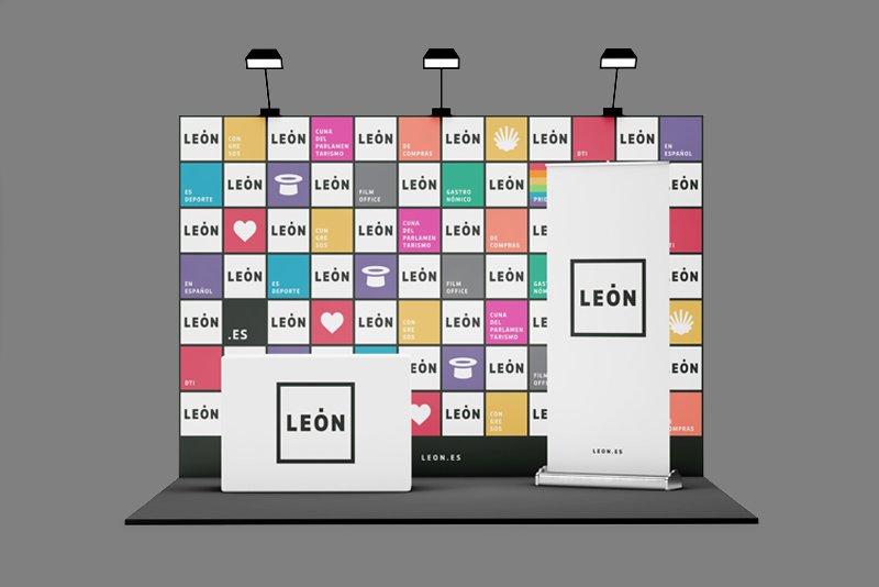 Stand Presentación Marca León