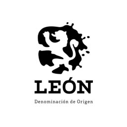 Logo en negativo de la Denominación de Origen de León