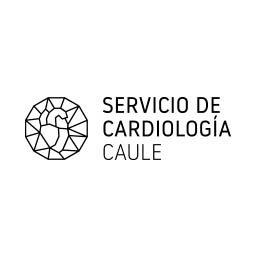 Logo en negativo del Servicio de Cardiología CAULE