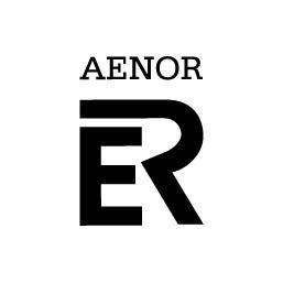 Logo en negativo de AENOR