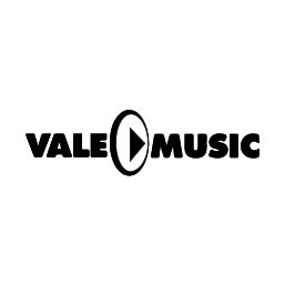 Logo en Negativo de VALE MUSIC