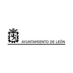 Logo en Negativo del Ayuntamiento de León