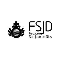 Logo en Negativo de la Fundación San Juan de Dios