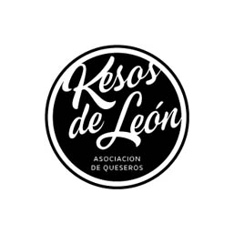 Logo en negativo de Kesos de León