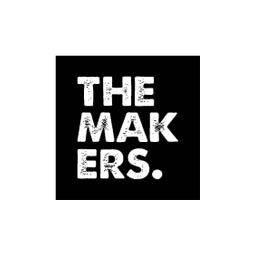Logo en negativo de The Markers.