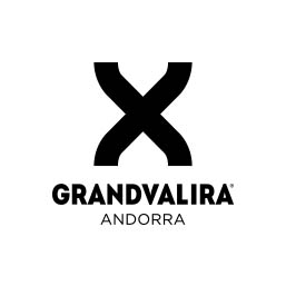 Logo en negativo de Grandvalira