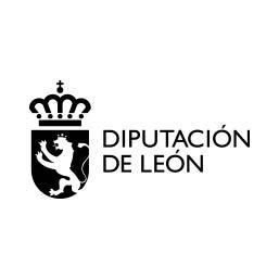Logo en negativo de la Diputación de León