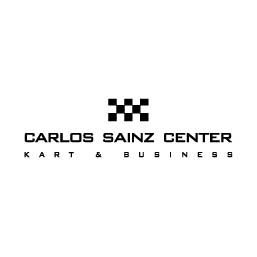 Logo en negativo de Carlos Sainz Center