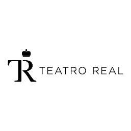 Logo en negativo de Teatro Real