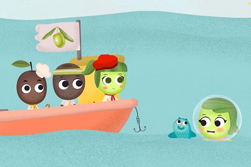 Los personajes de Oliva Clan en el Barco