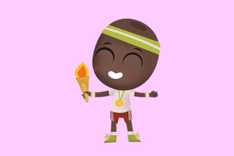Choc de Oliva Clan en las Olimpiadas